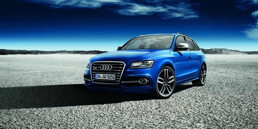SQ5 TDI Audi exclusive concept/Standaufnahme